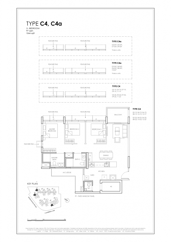 Floor Plan Provence Residence Canberra Updated 2021